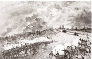 Battle of Springhill, where confusion reigned on the Confederate side and the Federals miraculously escaped the trap